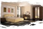 интерьер спальня 4 (эскиз)
