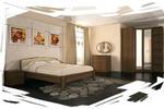 интерьер спальня 5 (эскиз)