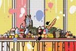 эскиз росписи для кухни