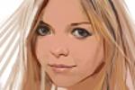 портрет девушки 4