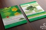 Листовка А5 для компании «Greenomica»