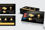 Дизайн визитки для компании «Favorit-Cargo»