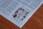 рекламная заметка в газету