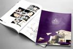 Дизайн обложки и разворота в каталог