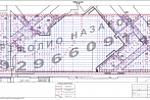 Разбивочный план площади верхнего паркинга ж/к Art
