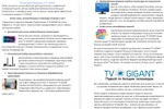 Продающий сео-текст для TV GIGANT