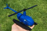 Макет вертолета