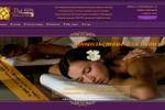 Сайт массажного салона