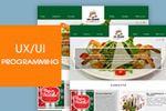 Сайт ресторана в аэропорту Шереметьево