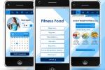 Дизайн мобильного приложения Fitness Food