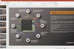 Пример презентации открытой в PowerPoint
