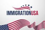 Логотип для сайта immigrationusa.ru