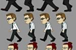 спрайты 2-D персонажей