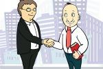 Векторная бизнес иллюстрация