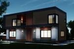 Дизайн фасада загородного дома 1