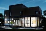 Дизайн фасада загородного дома 2