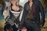 Пираты.Фотомонтаж.