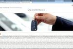 SEO текст для информационного портала: Аренда автомобилей