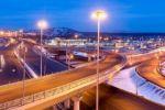 Освещение дорог и магистралей