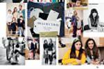 макет статьи для Harper's Bazaar