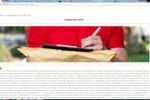 SEO текст для информационного портала: Курьер