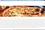 SEO текст для информационного портала: Доставка еды