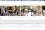 SEO текст для информационного портала: Оформление зала