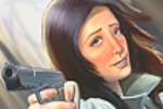 Неизвестная с пистолетом