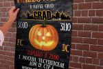 Афиша на Хэллоуин в ночной клуб