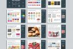 Брендбук для сети продуктовых магазинов