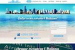 Дизайн landing page туристической компании Mymiamitour