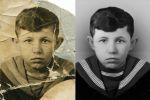Реставрация и окрашивание старой фотографии