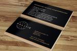 Разработка дизайна визитки для автосервиса класса Люкс