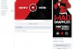 Оформление группы ВК:  MAD GRAPPLER(магазин вещей MMA)