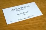 Разработка фирменного стиля Amour Bridal