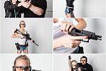 Фотосъёмка для рекламных материалов стрелкового клуба