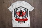 Дизайн футболки на хоккейную тематику