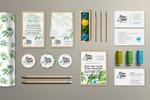 Разработка логотипа и фирменного стиля букетной кухни Бон-Бон