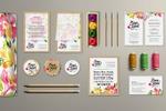 Разработка логотипа и фирменного стиля цветочного салона