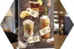 Кофейно-коктейльная карта для кафе Корица