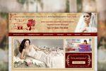 Сайт для свадебного интернет-магазина