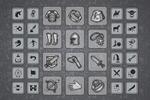 Два сета иконок для фэнтезийных игр