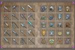 Иконки для ММОРПГ (оружие-шлема-амулеты)