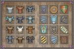 Иконки для ММОРПГ (доспехи-щиты)