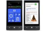 Приложение DeskAlerts для Windows phone