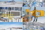 Промышленная аэросъемка на объекте Газпрома