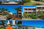 Съемка территории курорта  Malia Beach