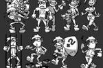 персонажи для карточной игры