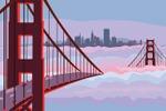 Golden-bridge San-Francisco