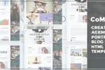 Шаблон Agency для Themeforest
